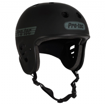 Pro-Tec Full Cut Certified Helmet Matte Black Large